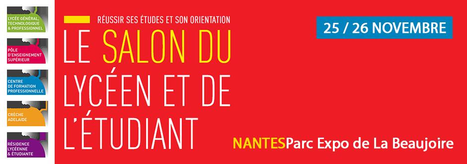 Lyc e talensac profitez du salon de l 39 tudiant nantes for Salon de letudiant nantes