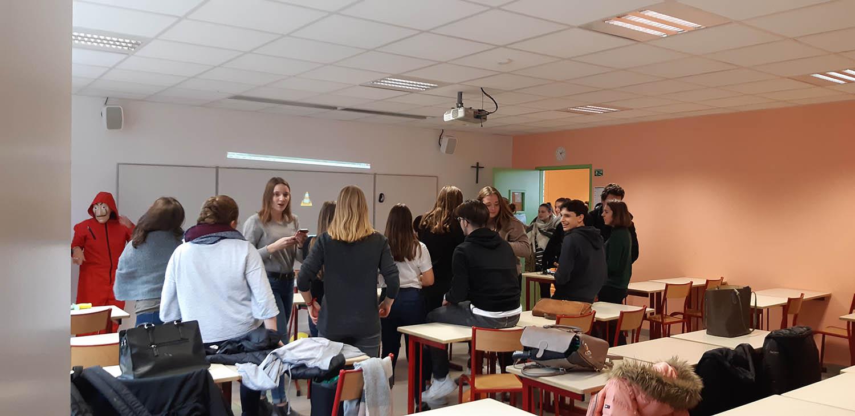 Semaine des langues au lycée Talensac