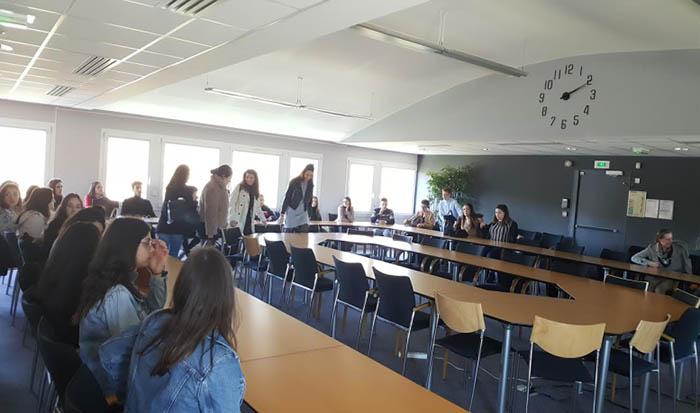 Les étudiants de 1ère BTS S.A.M. accueillis à la Mutualité Sociale Agricole Loire-Atlantique & Vendée