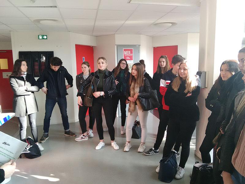 BTS SP3S : Visite de l'espace numérique du CCAS de Nantes