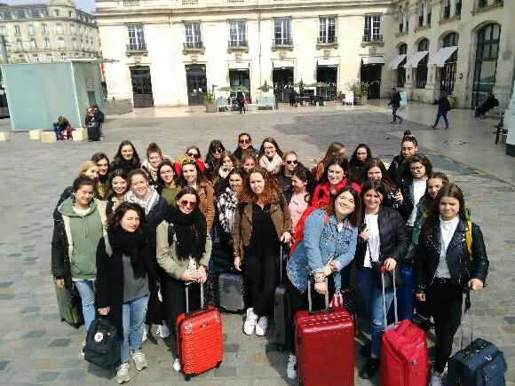 Les 1ères BTS SP3S du lycée Talensac en voyage à Bordeaux