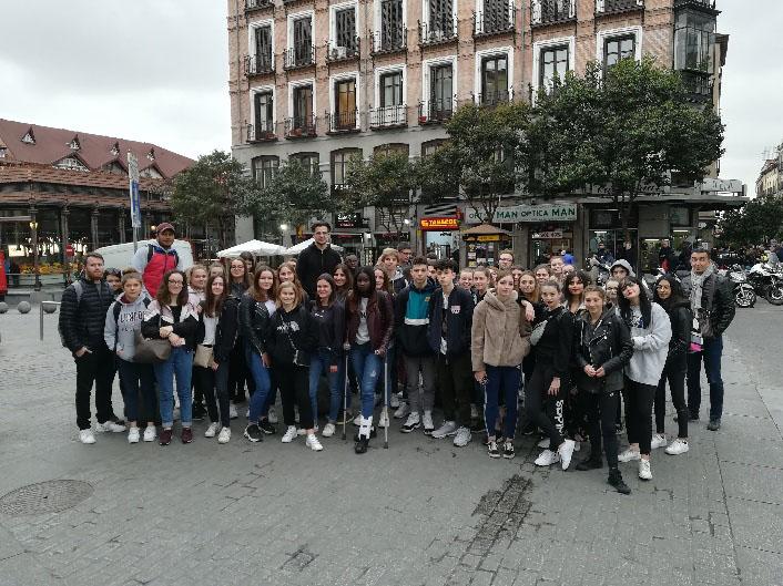 1ère ST2S : Voyage à Madrid