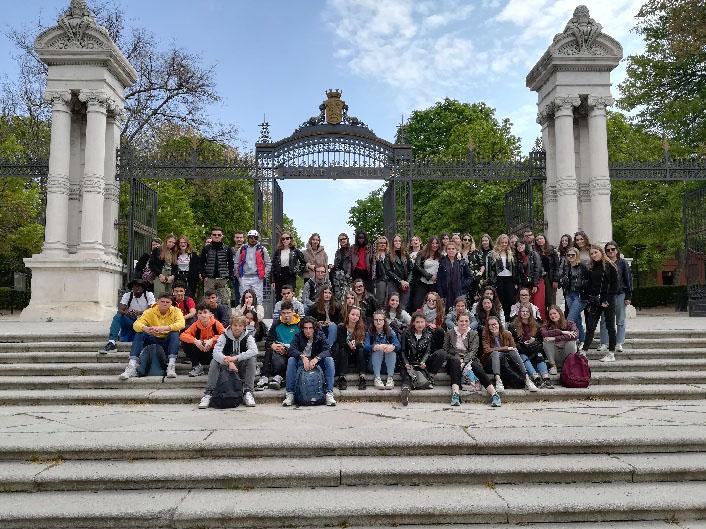 1ère : Voyage à Madrid