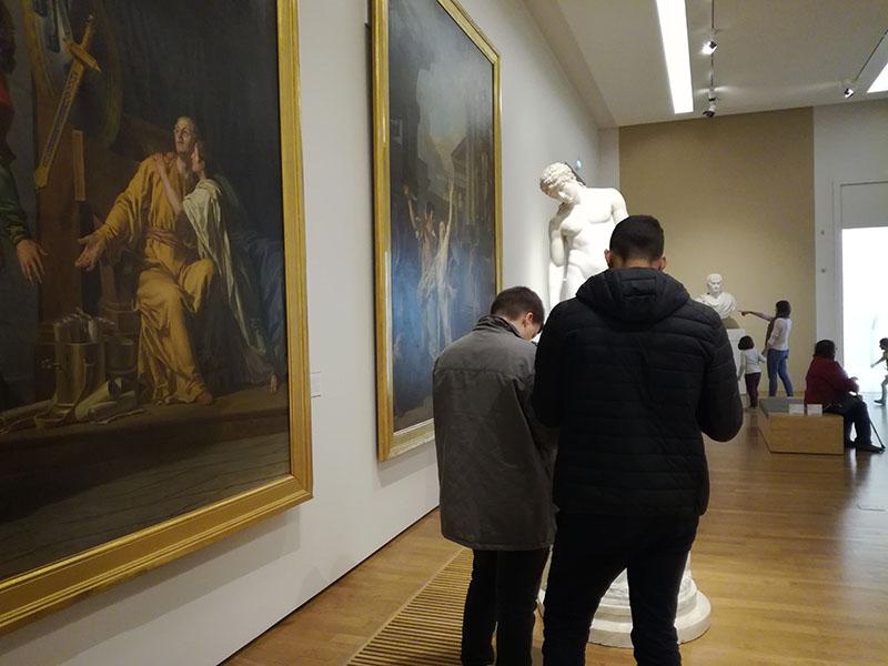 Bac Professionnel : visite du Musée des Beaux-Arts de Nantes