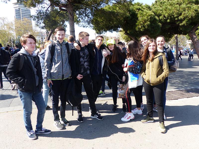 Voyage à Barcelone pour les 2ndes GT et Terminale GA
