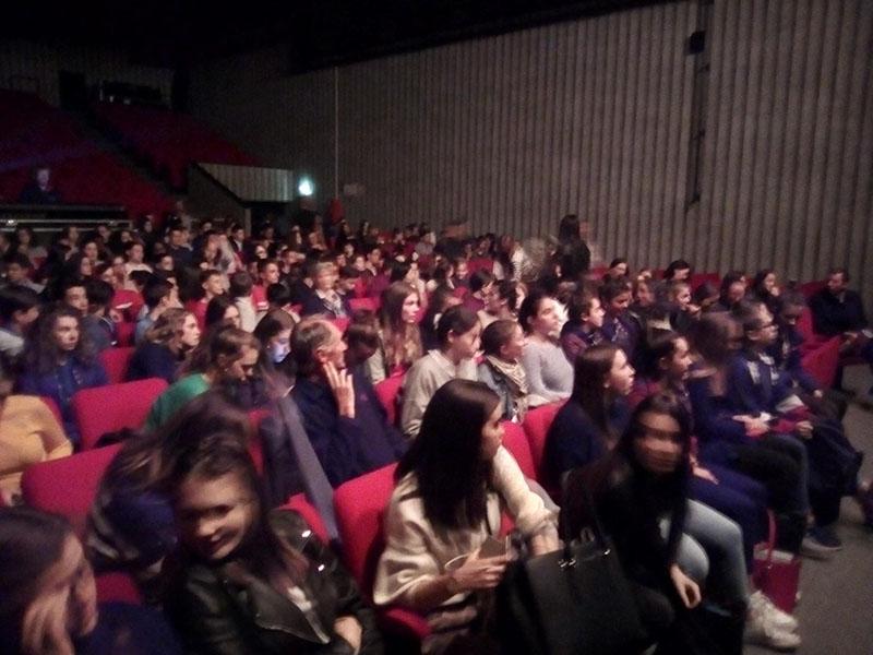 Participation des 2ndes ASSP à un concert pédagogique