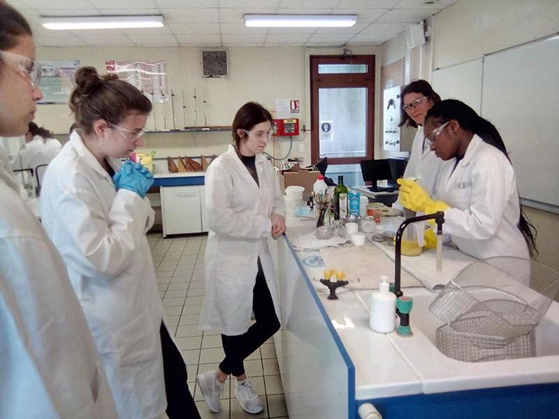 Fabriquer son propre savon en Terminale ASSP