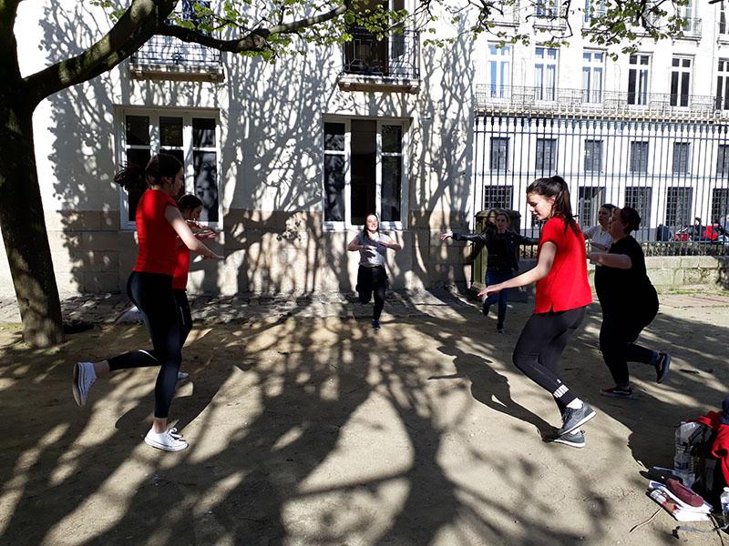 """BTS ESF : Action professionnelle """"Le Parcours du Coeur"""""""