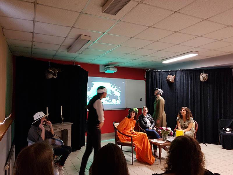 L'atelier théâtre au Lycée Talensac