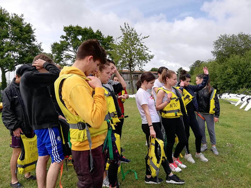 Raid sportif de fin d'année pour les élèves de 2nde