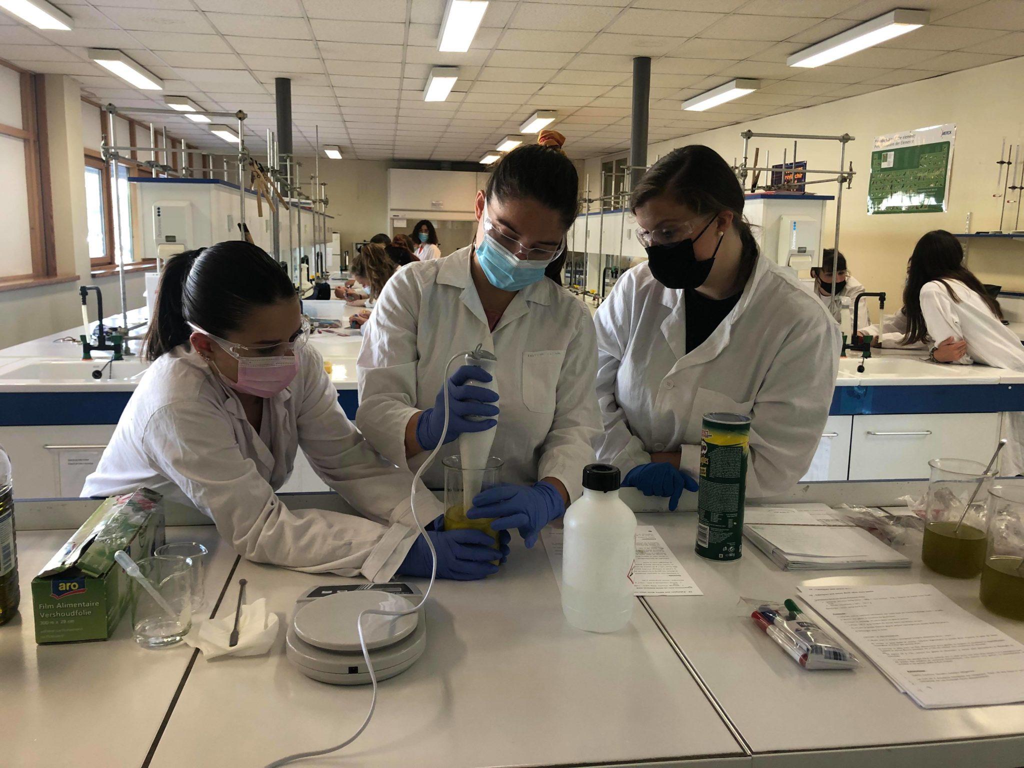 Chimie : Fabrication de savon pour les terminales ASSP